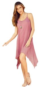 Alloy Apparel short dress Dusty Rose Mauve on Tradesy
