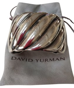 DAVID YURMAN DAVID YURMAN WIDE STERLING SILVER CUFF