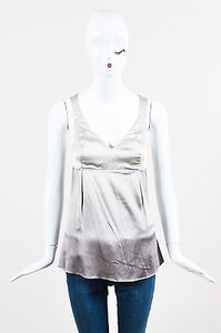 Brunello Cucinelli Ombre Top Gray