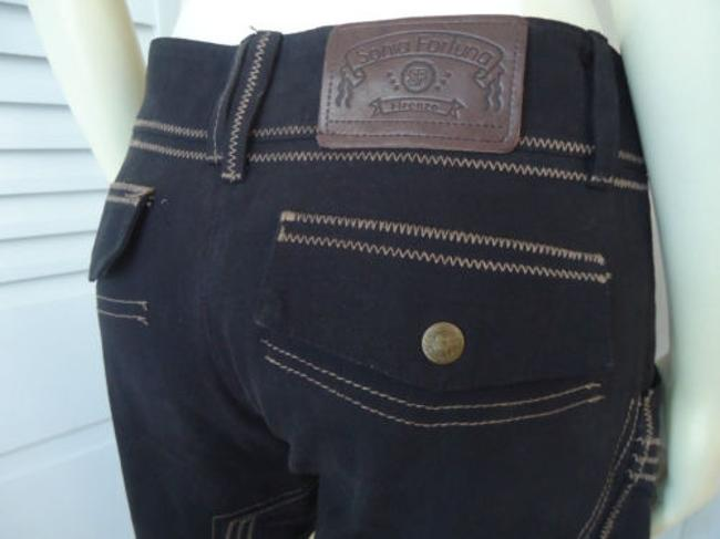 Other Sonia Fortuna Firenze Jodphur Riding Cottonblend Military Equestrian Pants Image 1
