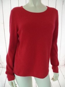 1 Madison Cashmere Fine Knit Lightweight Slightly Sheer Hot Sweater