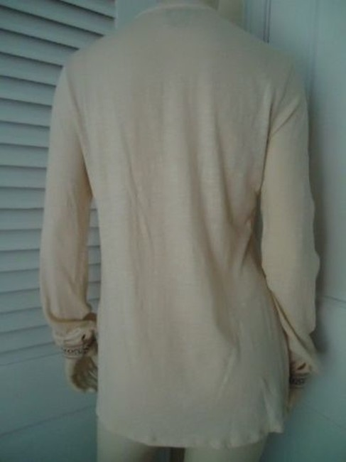 Lucky Brand Boho Hippie Pullover Knit Applique Embroidery Studs Tunic Image 3