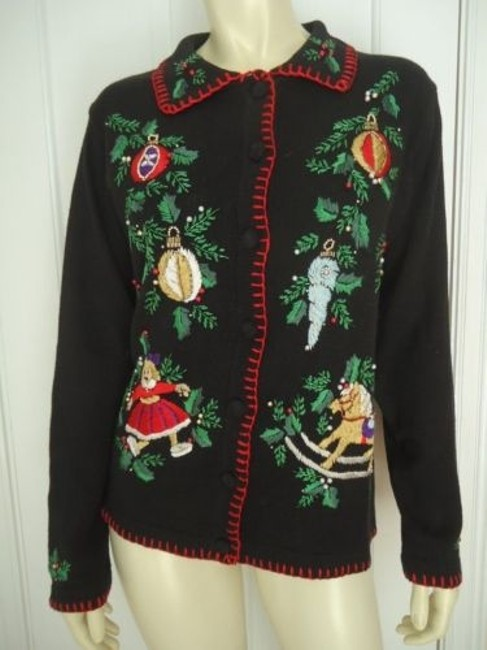 Preload https://img-static.tradesy.com/item/14466790/bp-design-sweater-ramie-cotton-embroidery-beads-christmas-cardigan-ugly-0-0-650-650.jpg