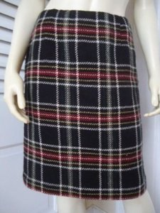 Talbots Petites Plaid Skirt Multi-Color