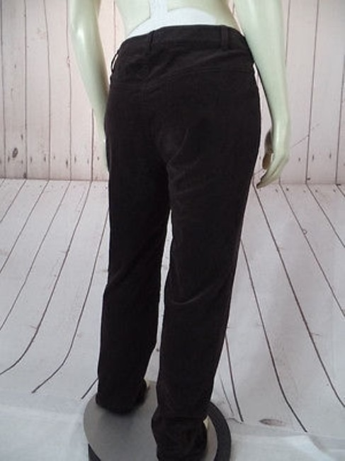CAbi Velvety Cotton Spandex Stretch Low Rise Straight Leg Chic Pants Image 10