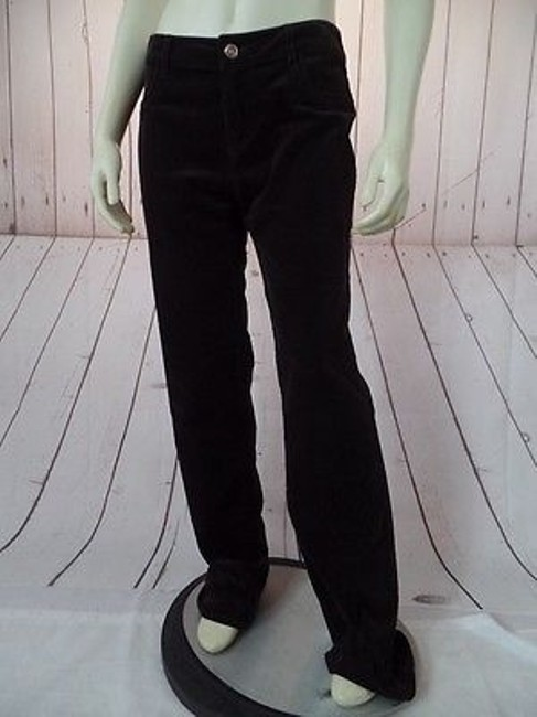 CAbi Velvety Cotton Spandex Stretch Low Rise Straight Leg Chic Pants Image 4