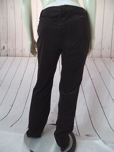 CAbi Velvety Cotton Spandex Stretch Low Rise Straight Leg Chic Pants Image 5