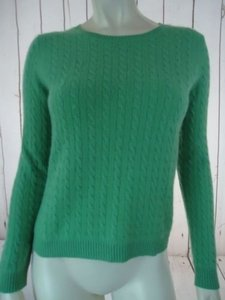 Other Whitney Tremaine Cashmere Cable Knit Soft Chic Sweater