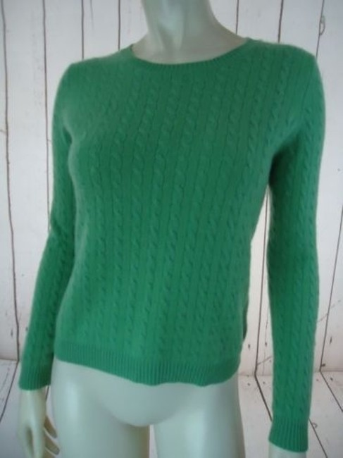 Other Whitney Tremaine Cashmere Cable Knit Soft Chic Sweater Image 1