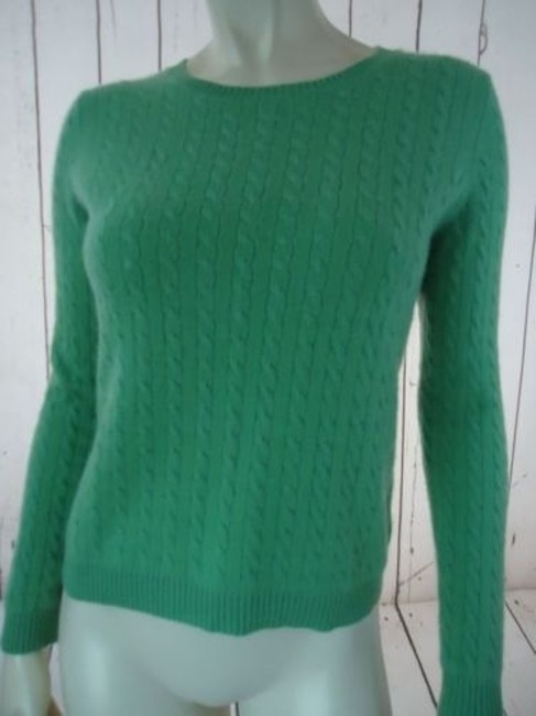 Other Whitney Tremaine Cashmere Cable Knit Soft Chic Sweater Image 2