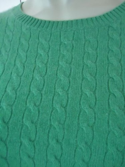 Other Whitney Tremaine Cashmere Cable Knit Soft Chic Sweater Image 3