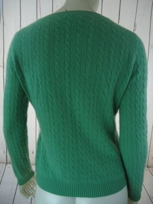 Other Whitney Tremaine Cashmere Cable Knit Soft Chic Sweater Image 4