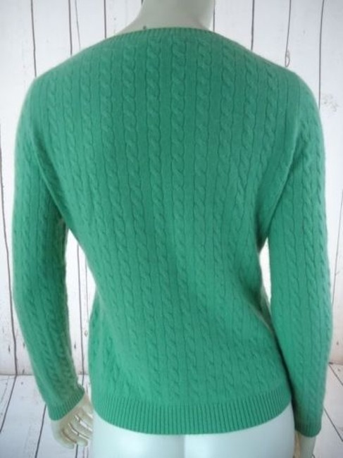 Other Whitney Tremaine Cashmere Cable Knit Soft Chic Sweater Image 5