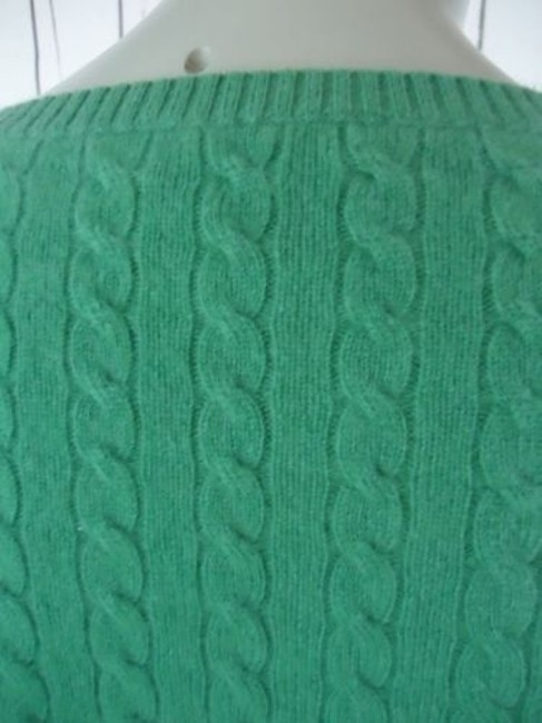 Other Whitney Tremaine Cashmere Cable Knit Soft Chic Sweater Image 6