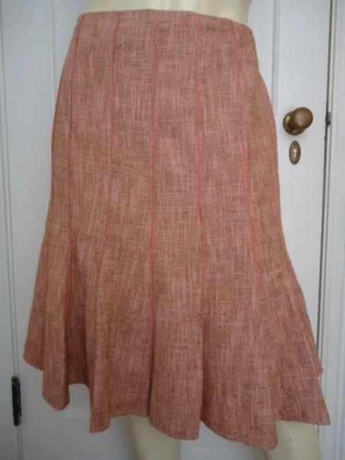 Preload https://img-static.tradesy.com/item/14467180/ann-taylor-petites-cottonwool-gored-tweed-skirt-12p-lined-flared-classy-0-0-650-650.jpg