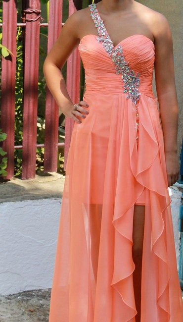 Preload https://img-static.tradesy.com/item/14467327/blush-prom-by-alexia-womens-orange-coral-embroidered-strap-evening-prom-dress-0-0-650-650.jpg