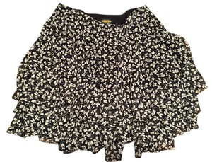 Rugby Ralph Lauren Skirt Black/white Floral