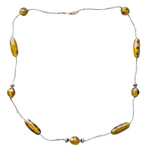Costume Jewelery Amber Costume Necklace