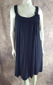 Robbie Bee short dress Black 20w Pleated Cocktail Party Shift 80 on Tradesy