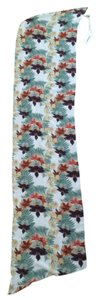 Other 6 Shore Road Oblong Floral Silk Scarf