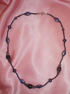 other Like new Purple beaded necklace