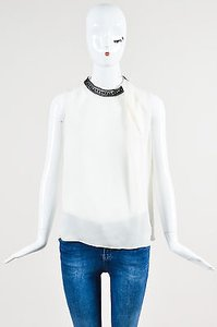 Robert Rodriguez Silk Top White