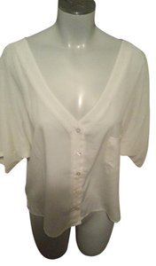Jessica Simpson Top Off White / Creme