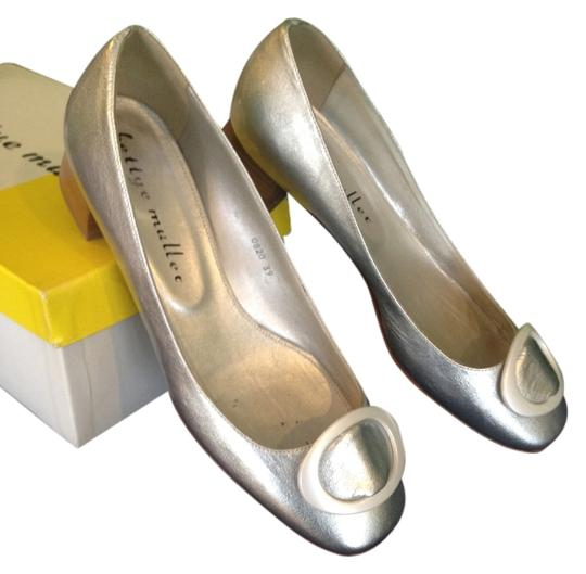 Bettye Muller Party Silver Flats