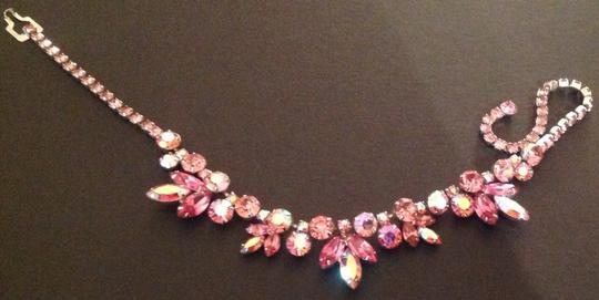 Weiss Vintage Rhinestone Crystal Weiss Signed Necklace