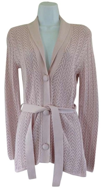 Preload https://item2.tradesy.com/images/tommy-hilfiger-light-pink-romance-sweater-coat-cardigan-size-petite-4-s-144721-0-0.jpg?width=400&height=650