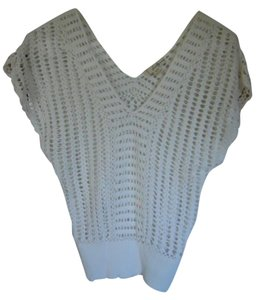 Forever 21 Casual V-neck Crochet Sweater