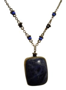 Other vintage sterling lapis pendant