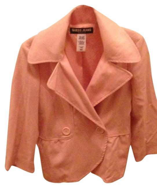 Preload https://item1.tradesy.com/images/guess-pink-blazer-size-8-m-1447345-0-0.jpg?width=400&height=650