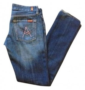 7 For All Mankind Pocket Skinny Jeans-Medium Wash