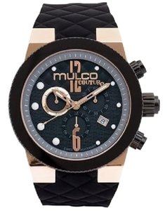 Mulco Unisex MULCO Ceramic Silicon Strap Watch 46mm MW5-2552-023