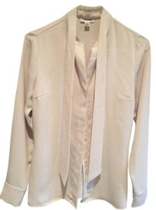 Calvin Klein Button Down Shirt Beige