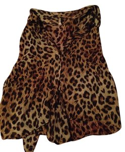 Wet Seal Top Cheetah