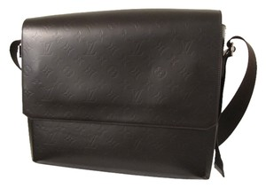 Louis Vuitton Empreinte Vernis Speedy Dark Brown/ Mocha Messenger Bag