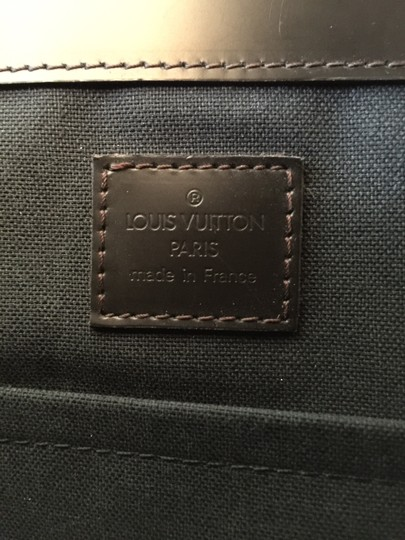 Louis Vuitton Empreinte Vernis Speedy Keepall Briefcase Dark Brown/ Mocha Messenger Bag