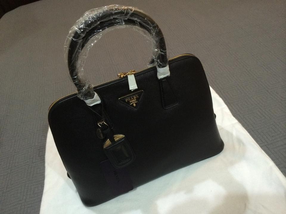 prada grey purse - Prada Saffiano Milano Black Tote Bag on Sale, 25% Off | Totes on ...