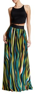 TOV Holy Maxi Skirt Multi