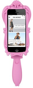 Moschino Barbie Vanity mirror silicone iPhone 5 Case