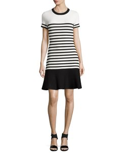 Kate Spade short dress Black white Striped on Tradesy