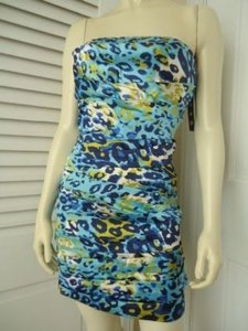 Snap Strapless Fitted Dress