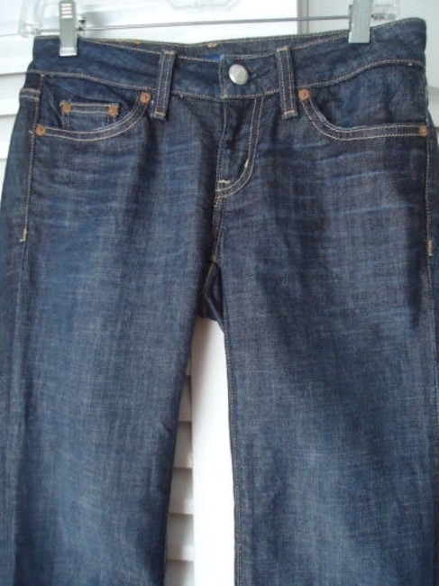 Martin + Osa 25 Long Jeans Boot Stretch Attitude Wotag Hot Pants Image 2