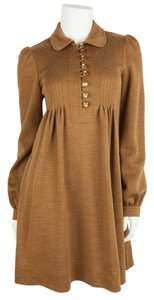 See by Chloé short dress Golden Brown on Tradesy