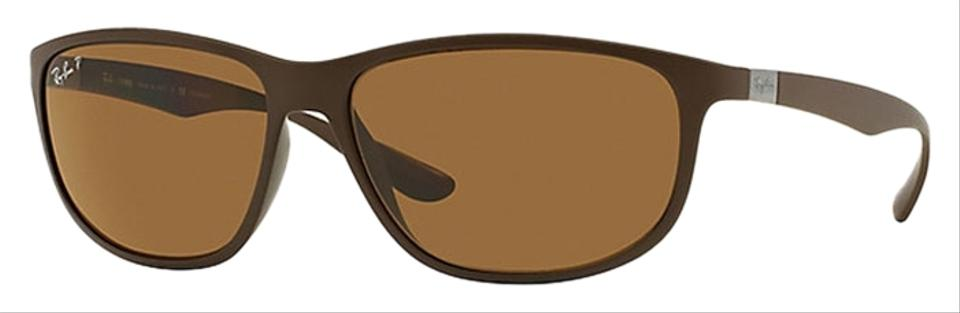 e12cc82a2b5a1 Ray-Ban Ray-Ban RB4213-612483 LITEFORCE Brown Size 61mm Sunglasses Image 0  ...