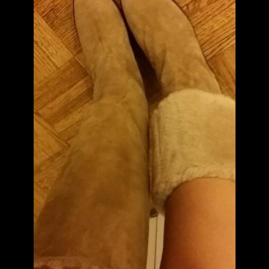Tod's Camel Boots Image 2