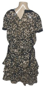 Converse short dress Leopard on Tradesy