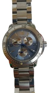 Nautica Men's Nautica Stainless Steel Blue Face Watch 11011G